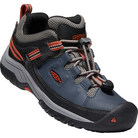 Keen Junior Targhee WP Low Shoes blue night/ro tea